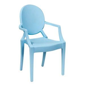 Children's Chair Hire - Pastel Blue