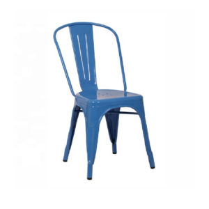 Blue Children's Metal Chair Hire