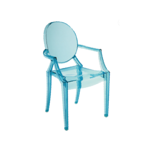 Blue frozen Children's Chair Hire