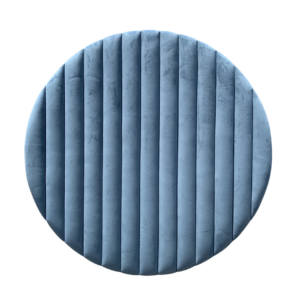 Blue Velvet Backdrop Round Hire