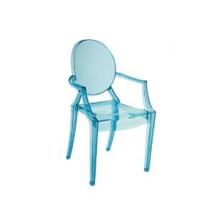 Children's Blue Frozen Ghost Chair Hire London