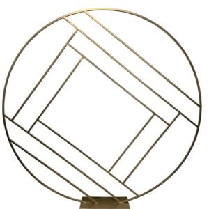 Gold Circle Luxury Backdrop